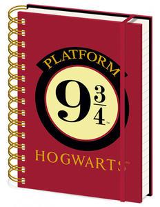 Obrázok Blok A5 kroužkový Harry Potter 9 a 3/4