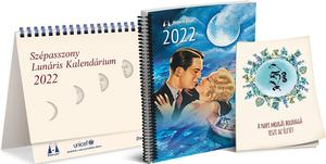 Obrázok Lunárny kalendár Krásnej panej 2022 maď.
