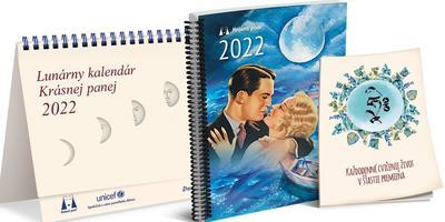 Obrázok Lunárny kalendár Krásnej panej 2022