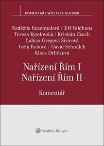 Obrázok Nařízení Řím I, Nařízení Řím II.