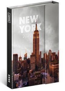 Obrázok Týdenní magnetický diář New York 2022