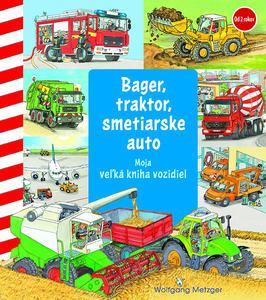 Obrázok Bager, traktor, smetiarske auto