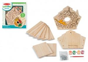 Obrázok Kreativní sada Vyrob si ptačí budku v krabici
