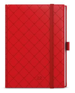 Obrázok Denní diář B6 Vivella extra Červená