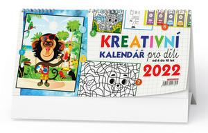 Kreativní kalendář pro děti 2022 - stolní kalendář