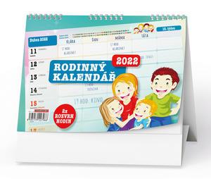 Rodinný kalendář 2022 - stolní kalendář