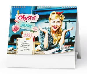 Obrázok Chytrá žena 2022 - stolní kalendář