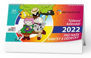 Obrázok Kalendář pro naše babičky a dědečky 2022 - stolní kalendář