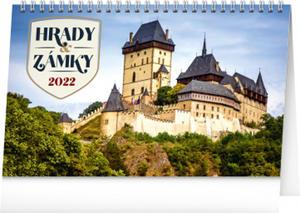 Obrázok Stolní kalendář Hrady a zámky 2022