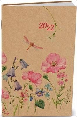 Obrázok Týdenní diář Kraft Luční květy