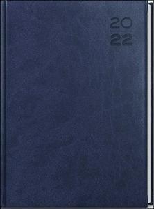 Obrázok Denní diář A4 Vivella Modrý