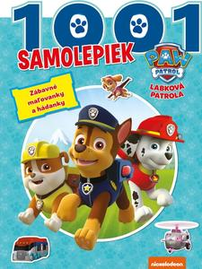 Obrázok Labková patrola - 1001 samolepiek