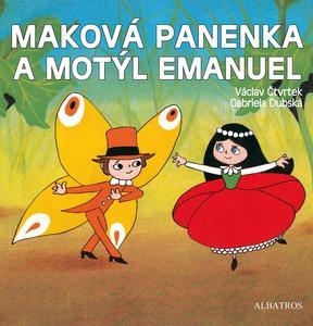 Obrázok Maková panenka a motýl Emanuel