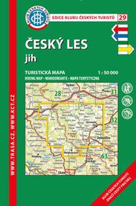 Obrázok KČT 29 Český les jih 1:50 000