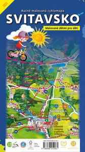 Obrázok Ručně malovaná cyklomapa Svitavsko