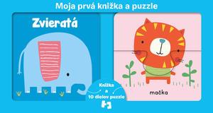 Obrázok Moja prvá knižka a puzzle Zvieratá