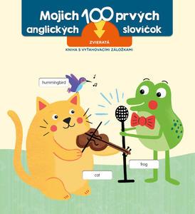 Obrázok Prvých 100 slov v angličtine Zvieratá