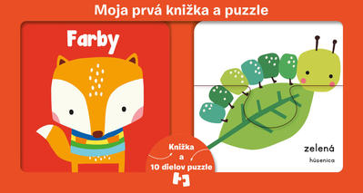 Obrázok Moja prvá knižka a puzzle Farby