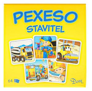 Obrázok Pexeso Stavitel