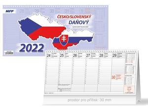 Obrázok Česko/slovenský 2022 - stolní kalendář
