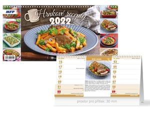 Hrnkové recepty (čtrnáctidenní) 2022 - stolní kalendář