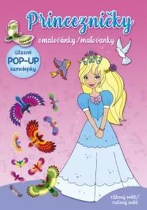 Obrázok Princezničky omalovánky/maľovanky
