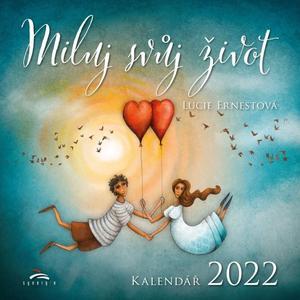 Obrázok Miluj svůj život - nástěnný kalendář 2022
