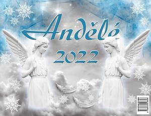 Obrázok Andělé 2022 - stolní kalendář