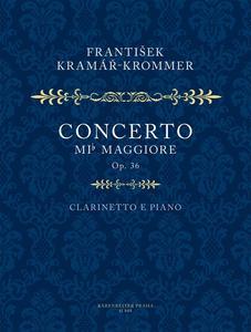 Obrázok Koncert Es dur pro klarinet a orchestr op. 36