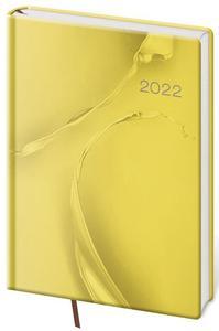 Obrázok Diář 2022 denní A5 Vario - Yelow design