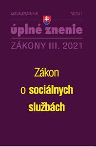 Obrázok Aktualizácia III/6 2021 Sociálne služby