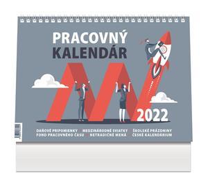 Obrázok Pracovný kalendár malý 2022 - stolový kalendár