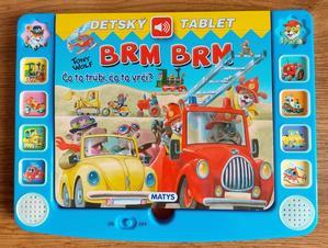 Obrázok Brm brm – detský tablet