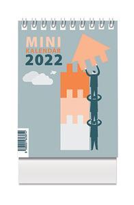 Obrázok Mini kalendár 2022 - stolový kalendár