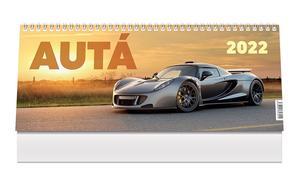 Obrázok Autá 2022 - stolový kalendár