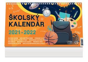 Obrázok Školský kalendár 2021/2022 - stolový kalendár