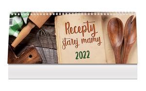 Obrázok Recepty starej mamy 2022 - stolový kalendár