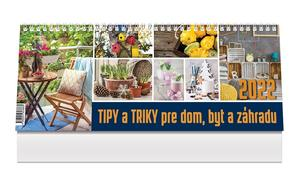 Obrázok Tipy a triky pre dom, byt a záhradu 2022 - stolový kalendár