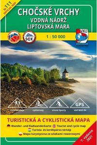 Obrázok TM 111 Chočské vrchy - vodná nádrž Liptovská Mara 1: 50 000