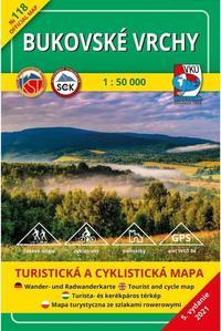 Obrázok TM 118 Bukovské vrchy 1: 50 000