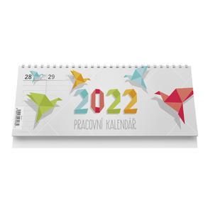 Pracovní kalendář 2022 - stolní kalendář