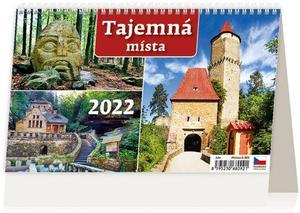 Obrázok Tajemná místa ČR 2022 - stolní kalendář