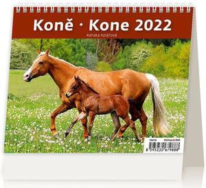 Obrázok MiniMax Koně 2022 - stolní kalendář
