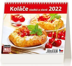 MiniMax Koláče sladké a slané 2022 - stolní kalendář