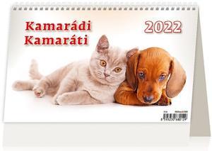 Obrázok Kamarádi 2022 - stolní kalendář