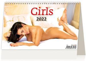 Obrázok Girls 2022 - stolní kalendář
