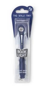 Obrázok LED lampička ke čtení úzká Tmavě modrá
