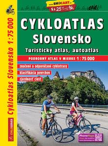 Obrázok Cykloatlas Slovensko 1:75 000