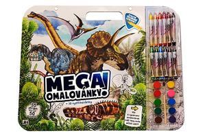 Obrázok Mega omalovánkový set Dino