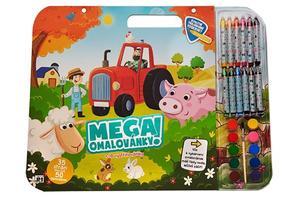 Obrázok Mega omalovánkový set Farma